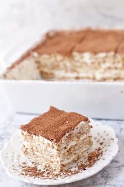 no bake nescafe cake