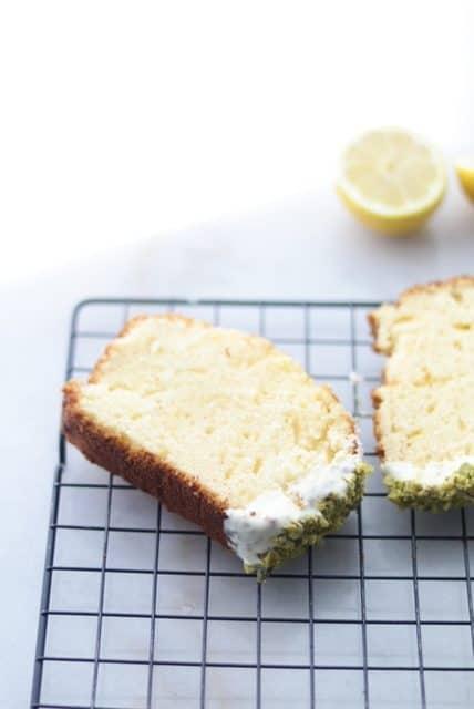 Lemon pound cake from scratch