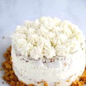 RECIPE FOR CARROT CAKE WITH PINEAPPLE