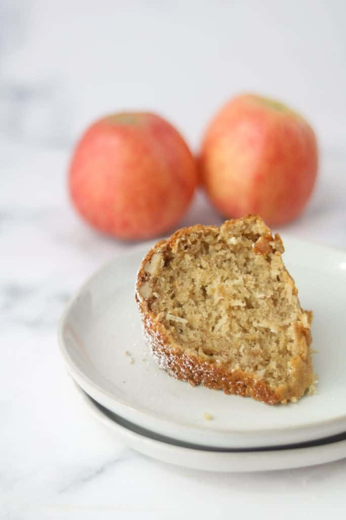 apple bundt cake with cake mix