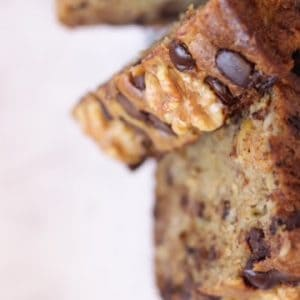 banana bread recipe with walnuts and chocolate chips