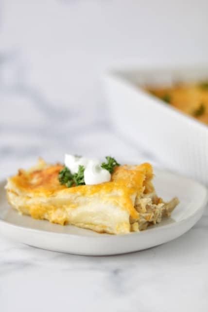 chicken enchilada recipe with cream cheese