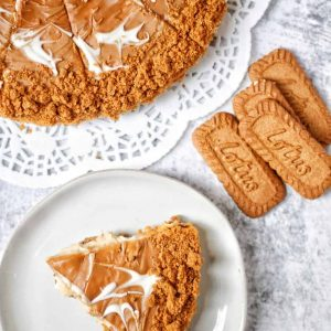 no bake lotus biscoff cheesecake