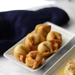 fried chicken wonton recipe