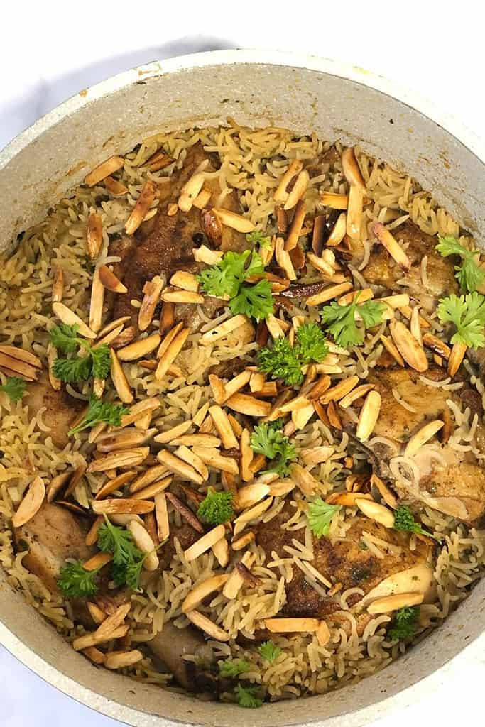 One Pot Chicken Thighs and Rice Recipe